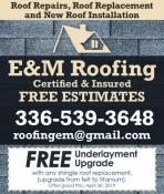 Coupon Offer: Free Underlayment Upgrade