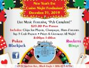 Coupon Offer: New Year's Eve Casino Night Fundraiser!