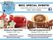 Coupon Offer: Christmas Tea / Burgers & Brew