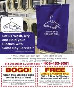 Coupon Offer: Free Large Laundry Bag!
