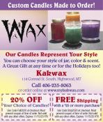 Coupon Offer: 20% OFF Your Choice of Candles!
