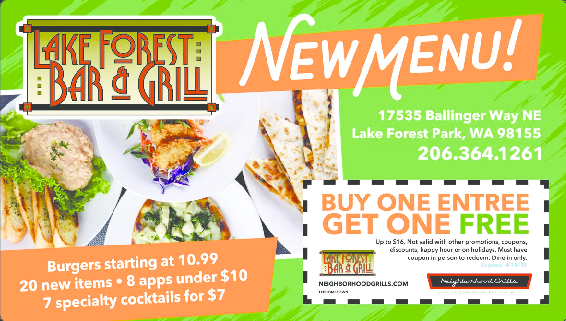 Bothell Kenmore Canyon Park Coupons Free Restaurant