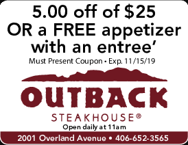 Billings West End / Laurel Coupons, Free Restaurant Coupons
