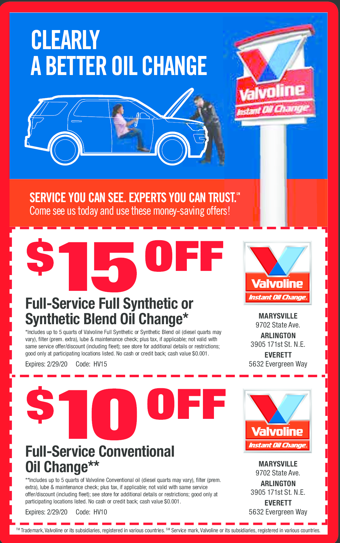 This is a graphic of Simplicity Valvoline Instant Oil Change Coupons Printable 19.99