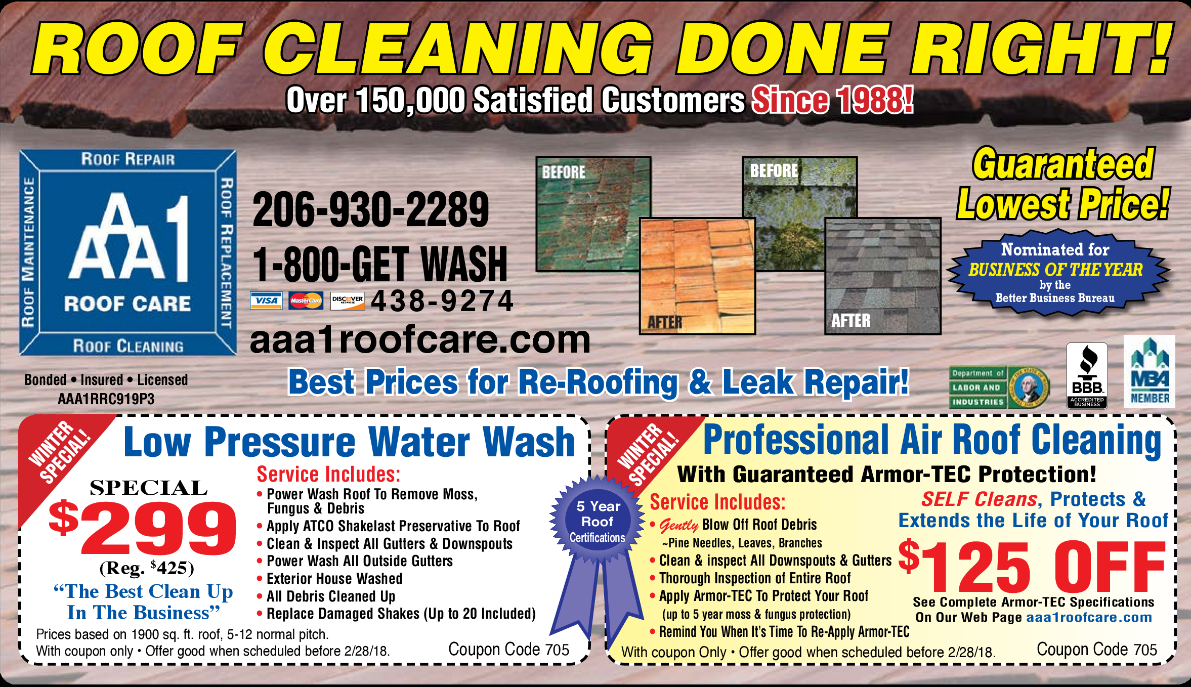 Printable local coupons free restaurant coupons online hometown aaa1 roof care fandeluxe Choice Image
